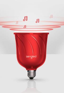 Pametne led žarnice Sengled Pulse z integriranim JBL zvočnikom Rdeča (2)