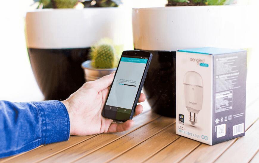 Pametna led žarnica Sengled Boost WiFi repetitor (2)