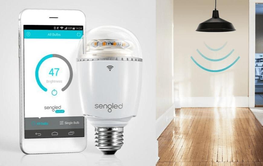 Pametna led žarnica Sengled Boost + WiFi repetitor (2)