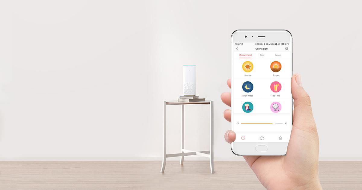 Aplikacija za upravljanje pametnih led žarnic Sengled.