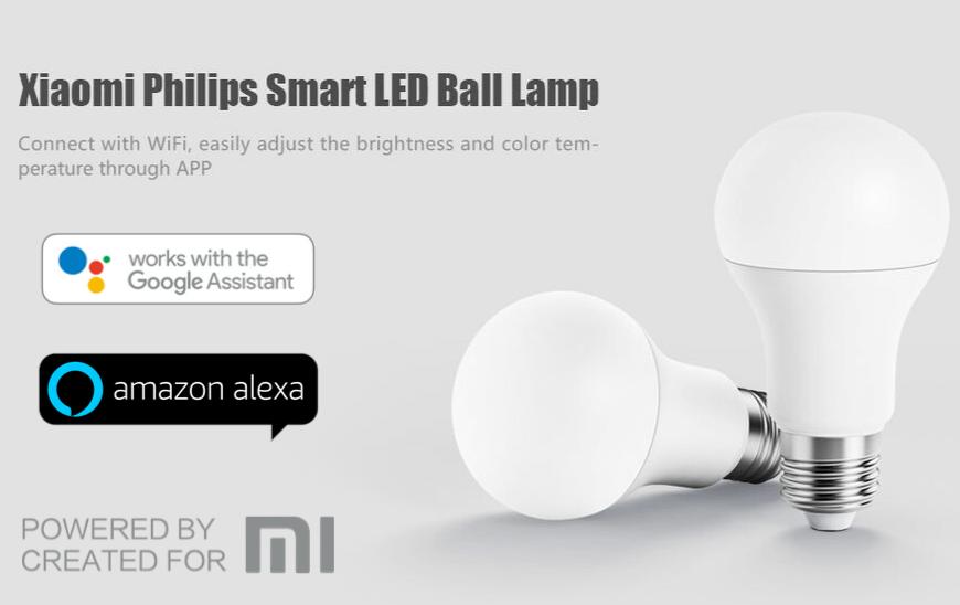 PHILIPS Pametna žarnica za Xiaomi-pametno upravljanje