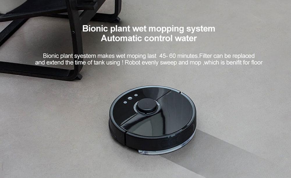 Xiaomi robotski sesalnik Roborock Sweep One S55 Botanično biomimetični sistem mokrega čiščenja