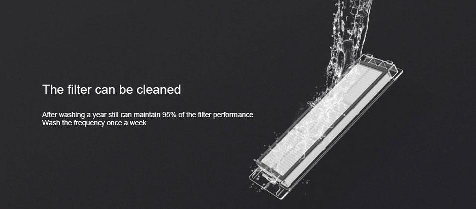 Xiaomi robotski sesalnik Roborock Sweep One S55 Pralen filter za enostavno čiščenje